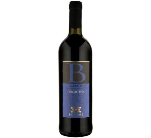 Primitivo Salento, Boheme 2019 Wine 75cl