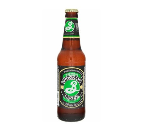 Brooklyn Lager Beer 355ml Bottle