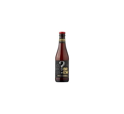 Curious Brew Lager 330ml Bottle