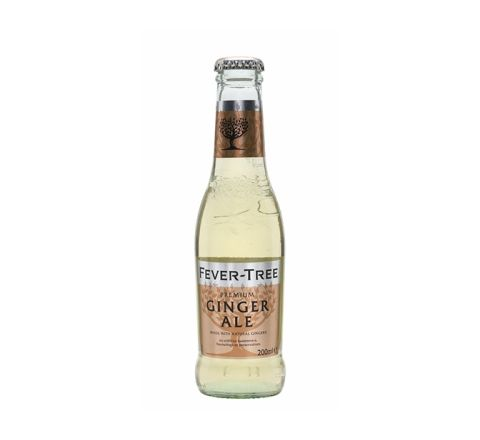 Fever-Tree Ginger Ale Glass 200ml Bottle