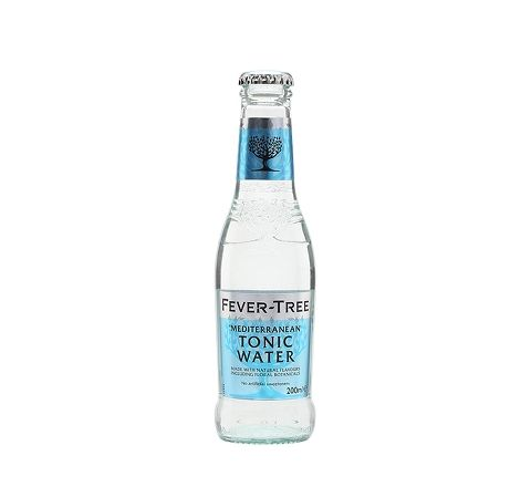 Fever-Tree Mediterranean Tonic Water Glass 200ml Bottle