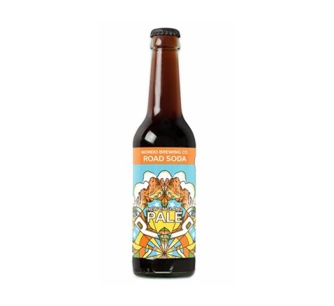 Mondo Road Soda New England Pale Ale Beer 330ml Bottle